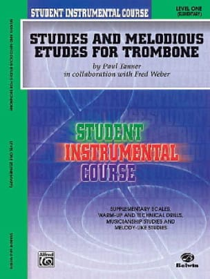 Tanner Paul / Weber Fred - Studies & melodious etudes volume 1 - Partition - di-arezzo.fr