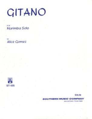 Alice Gomez - Gitano - Partition - di-arezzo.fr