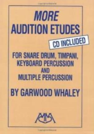 Garwood Whaley - More Audition Etudes - Partition - di-arezzo.fr