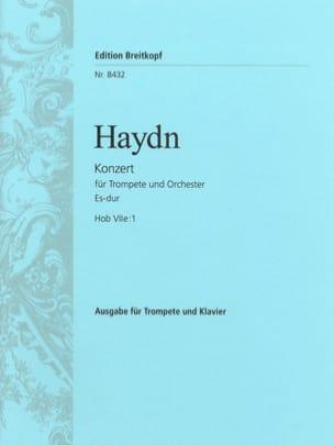Concerto N° 1 en mi bémol Majeur pour trompette - laflutedepan.com