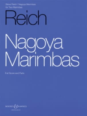 Steve Reich - Nagoya Marimbas - Partition - di-arezzo.fr