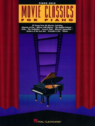 Movie Classics For Piano Partition Musique de film - laflutedepan