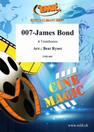 Beat Ryser - 007-James Bond - Partition - di-arezzo.fr