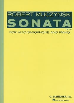 Robert Muczynski - Sonata Opus 29 - Sheet Music - di-arezzo.co.uk