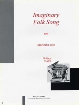 Imaginary Folk Song Philippe Macé Partition Marimba - laflutedepan