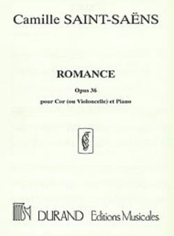Camille Saint-Saëns - Romance Opus 36 - Sheet Music - di-arezzo.co.uk