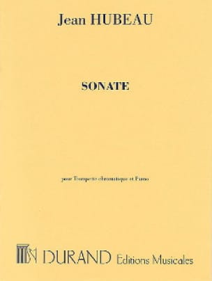 Jean Hubeau - Sonata - Sheet Music - di-arezzo.co.uk