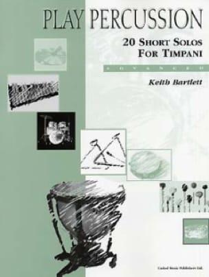 Keith Bartlett - 20 Short Solos For Timpani - Advanced - Sheet Music - di-arezzo.com
