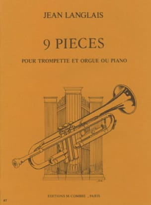 Jean Langlais - 9 Pièces - Partition - di-arezzo.fr