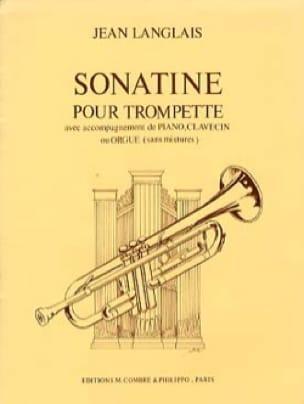 Sonatine Jean Langlais Partition Trompette - laflutedepan