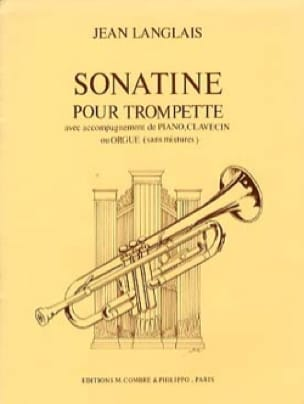Jean Langlais - Sonatine - Partition - di-arezzo.fr