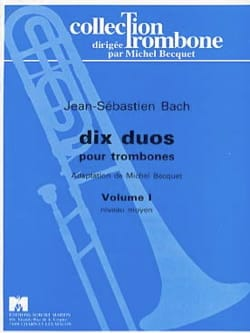 Johann Sebastian Bach - Dix duos Volume 1 - Partition - di-arezzo.fr