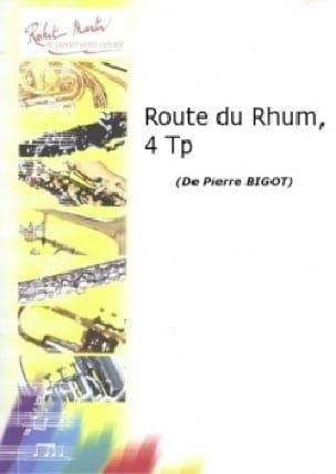 Route du rhum - Pierre Bigot - Partition - laflutedepan.com