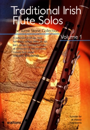 Vincent Broderick - Traditional Irish Flute Solos - Sheet Music - di-arezzo.co.uk