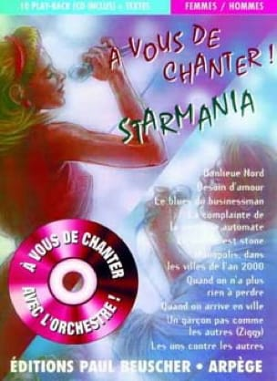 - To You To Sing Starmania - Man - Woman - Sheet Music - di-arezzo.co.uk