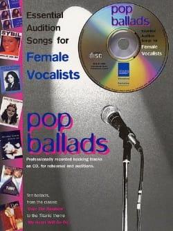 Pop Ballads Female Vocalists - Partition - laflutedepan.com