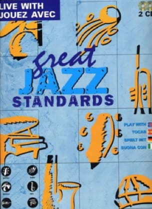 Live With Great Jazz Standards avec 2 CDs - laflutedepan.com