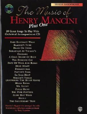 Henry Mancini - The music of Henry Mancini plus one - Sheet Music - di-arezzo.co.uk
