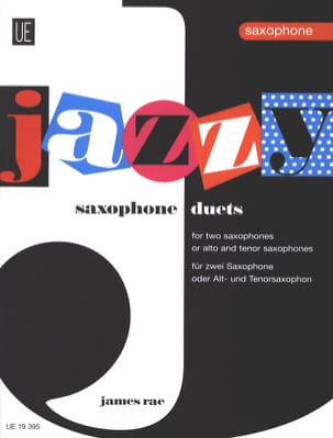 Jazzy Duets For Saxophones James Rae Partition laflutedepan