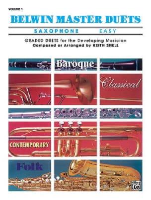 - Belwin Master Duets Easy Volume 1 - Partition - di-arezzo.fr