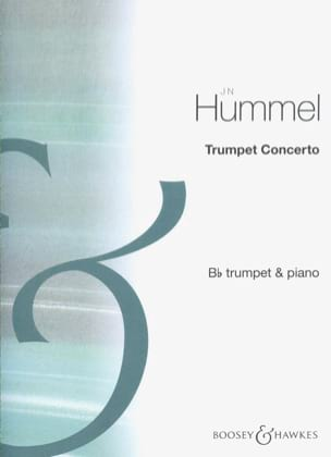 Trumpet Concerto HUMMEL Partition Trompette - laflutedepan