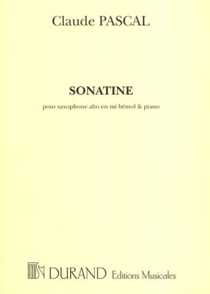 Claude Pascal - Sonatine - Sheet Music - di-arezzo.co.uk