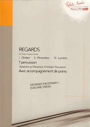 Georges Paczynski - Regards in Three Movements - Partition - di-arezzo.co.uk