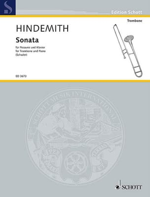 Paul Hindemith - Sonata - Partition - di-arezzo.co.uk