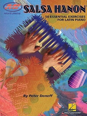 Peter Deneff - Salsa Hanon 50 Essential Exercices For Latin Piano - Partition - di-arezzo.fr
