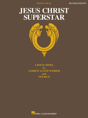 Andrew Lloyd Webber - Jesus Christ Superstar Rock Opera - Partition - di-arezzo.fr