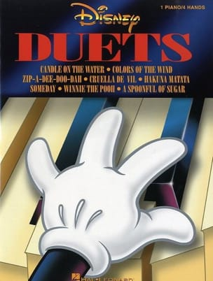 DISNEY - Disney Duets - Sheet Music - di-arezzo.co.uk