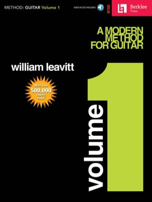 G. William Leavitt - A Modern Method For Guitar Volume 1 - Partition - di-arezzo.fr