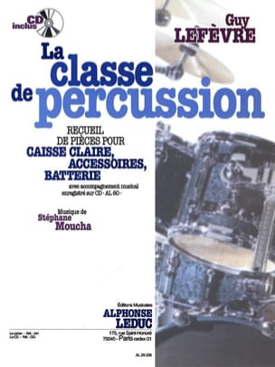 La Classe de Percussion Guy Lefèvre Partition Batterie - laflutedepan