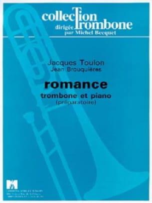 Romance Jacques Toulon Partition Trombone - laflutedepan