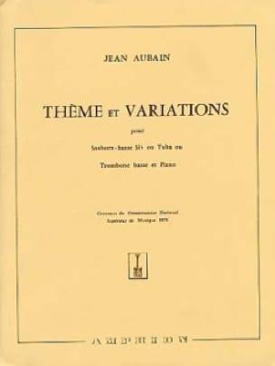 Jean Aubain - Tema y variaciones - Partitura - di-arezzo.es