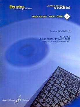 Patrice Sciortino - 15 Studies on sentence and velocity - Partition - di-arezzo.co.uk