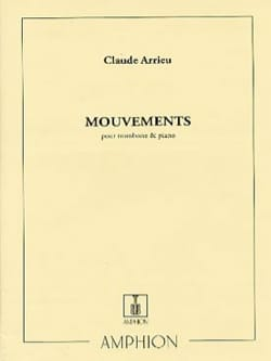 Claude Arrieu - Mouvements - Partition - di-arezzo.fr