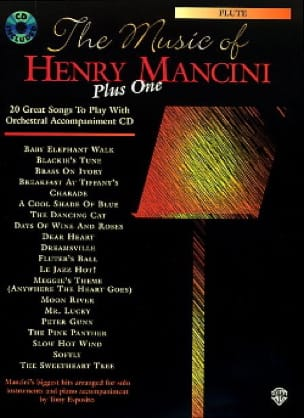 Henry Mancini - The music of Henry Mancini plus one - Sheet Music - di-arezzo.com