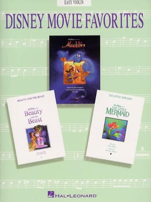 Disney Movie Favorites DISNEY Partition Violon - laflutedepan