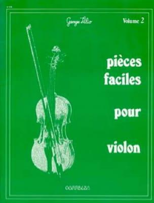 Pièces Faciles Pour Violon Volume 2 Georges Vilio laflutedepan