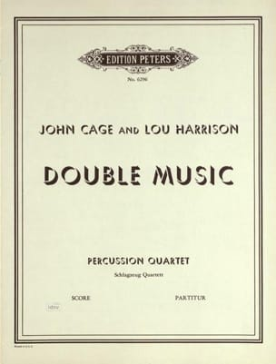 Cage John / Harrison Lou - Double Music - Conducteur - Partition - di-arezzo.fr