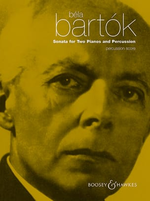 Béla Bartók - Sonata For Two Pianos And Percussion - Percussion - Partition - di-arezzo.fr
