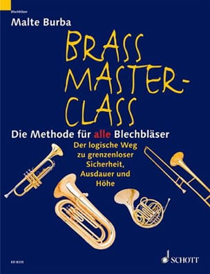 Malte Burba - Brass Master Class V. German - Sheet Music - di-arezzo.co.uk