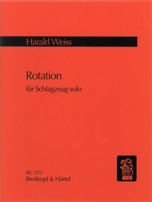 Rotation - Harald Weiss - Partition - laflutedepan.com