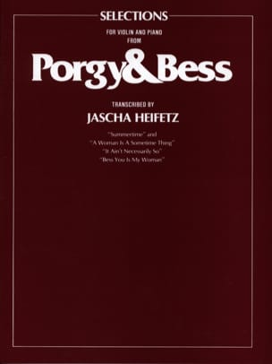 George Gershwin - Porgy - Bess Transcribed By Jascha Heifetz - Sheet Music - di-arezzo.co.uk