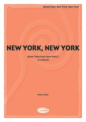 John Kander - Theme From New York New York - Sheet Music - di-arezzo.co.uk
