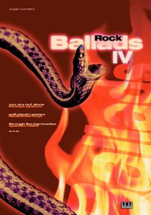 Rock Ballads Volume 4 - Partition - Guitare - laflutedepan.com