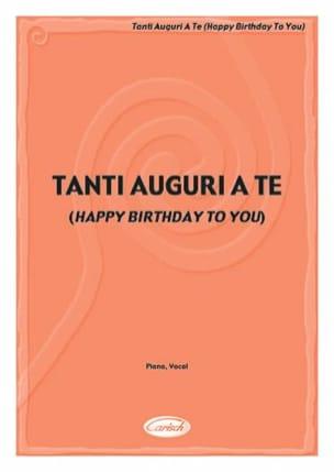 Patty S. Hill - Happy Birthday to You - Sheet Music - di-arezzo.co.uk
