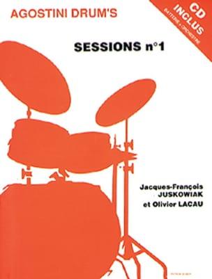 Agostini drum's sessions N° 1 Juskowiak J.F. / Lacau O. laflutedepan
