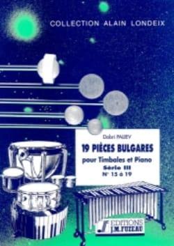 Dobri Paliev - 19 Pièces Bulgares Série 3 (15 A 19) - Partition - di-arezzo.fr
